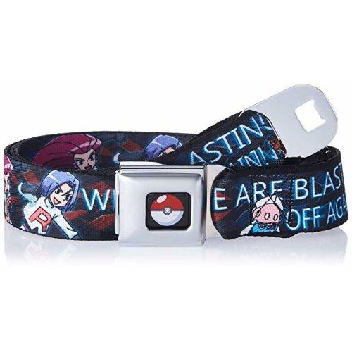 Seatbelt Belt - Pokemon - V.46 Adj 24-38' Mesh New pka-wpk104