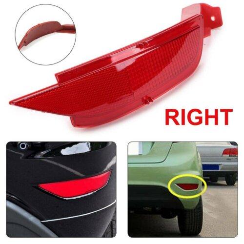 LHD Rear Right Side Bumper Reflector N/S Fog Light Len For Ford Fiesta