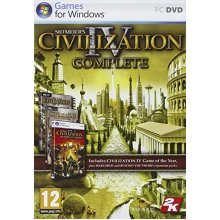 Sid Meier's Civilization IV: Complete (PC DVD) - Used