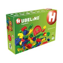 Hubelino Marble Run 128 Piece Run Elements Expansion Set The Original Made in germany certified and Award Winning Marble Run