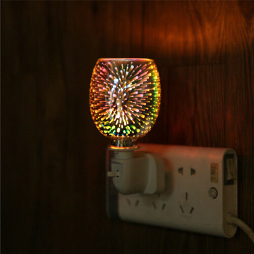 Electric Lamp Burner Wax Melter Plug in Glass Candle Warmer Fragrance