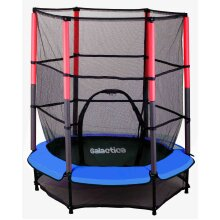 GALACTICA Children's Mini Trampoline With Safety Net - 4.5ft