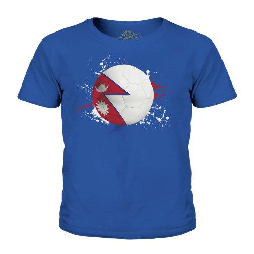 Candymix - Nepal Football - Unisex Kid's T-Shirt