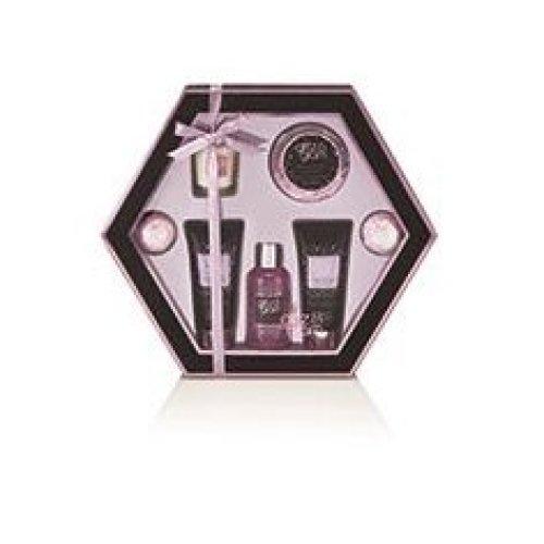 Style & Grace Botanique Pamper Pot 75g Bath Crystals, 50ml Hand Cream and Pot