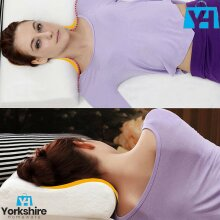 Head Neck Back Support Contour Bed Memory Foam Soft Pillow Orthopedic Cushion