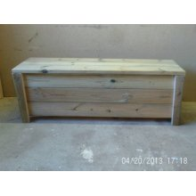 Chunky Storage Bench With Legs - UP TO 8 WEEK WAIT