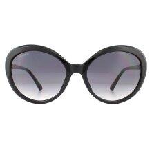 Swarovski Sunglasses SK0204 01B Shiny Black Smoke Gradient