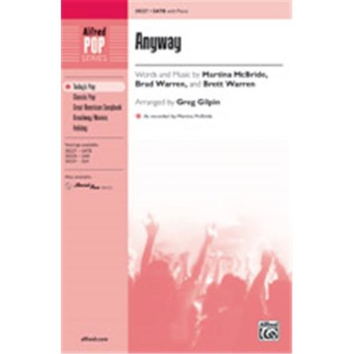 Alfred 00-38230 ANYWAY-STRX CD