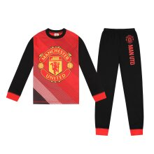 Manchester United Boys Pyjamas Long Sublimation Kids OFFICIAL Football Gift