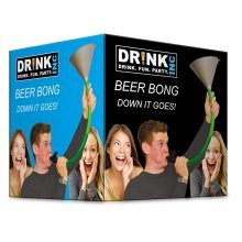 Dr!nk Inc Beer Bong Drinking Game - Party Fizz Creations Multicoloured Yard Ale -  beer bong drinking party game fizz creations multicoloured yard