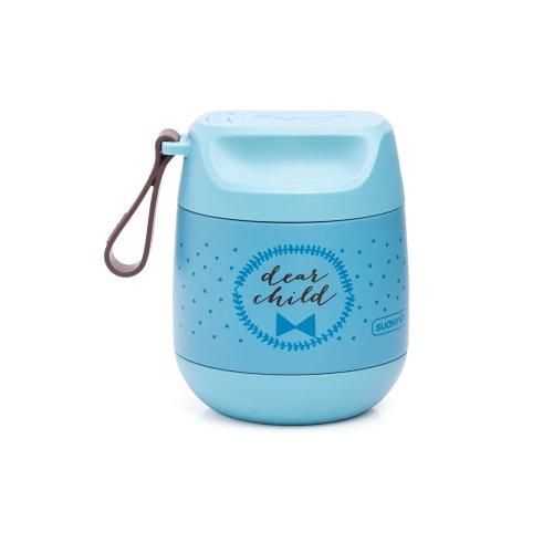 Suavinex 303515- Baby Food Thermal Flask, Blue
