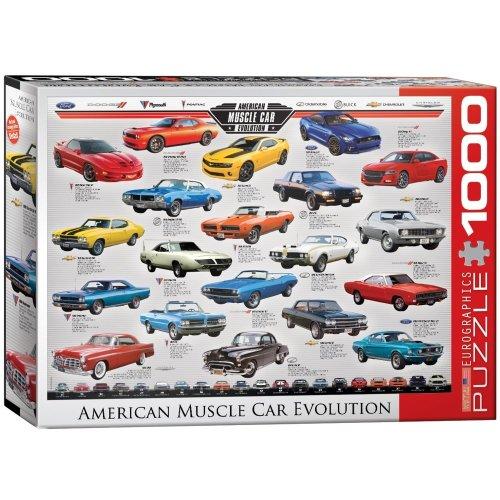 Eg60000682 - Eurographics Puzzle 1000 Pc - Muscle Car Evolution