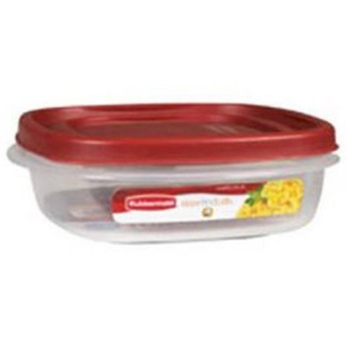 Rubbermaid 832343 3 Cup Square Food Container