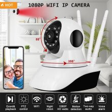 1080P Wireless WIFI P2P Camera Indoor Outdoor Home Security Cam