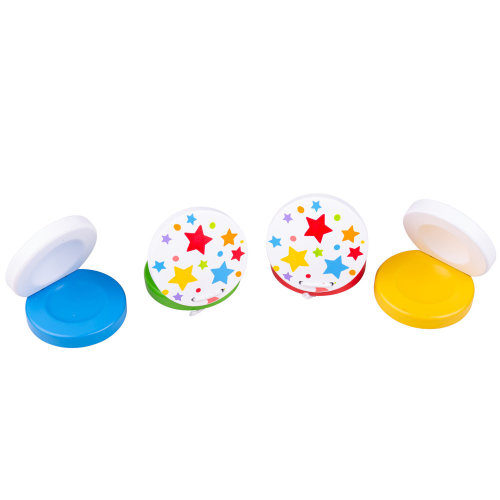 Bigjigs Toys Wooden Castanets Children/'s Musical Instruments