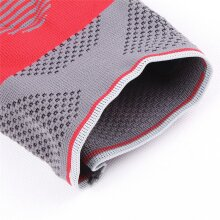 S02 Cycling Protective Pad Three - Dimensional Weaving Silica Gel Red Black Elbow Pads XL