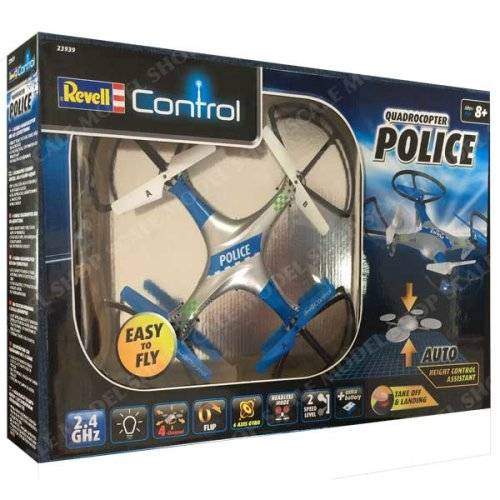 RC Police Quad Copter Revell 23939