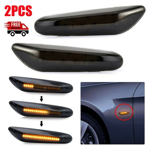 BMW 3 Series E92 Indicator Sequential Dynamic Smoke LED Turn Signal Side Light Indicator