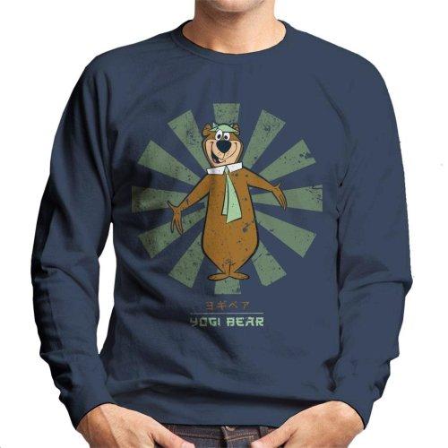 Yogi Bear Retro Japanese Men's Sweatshirt