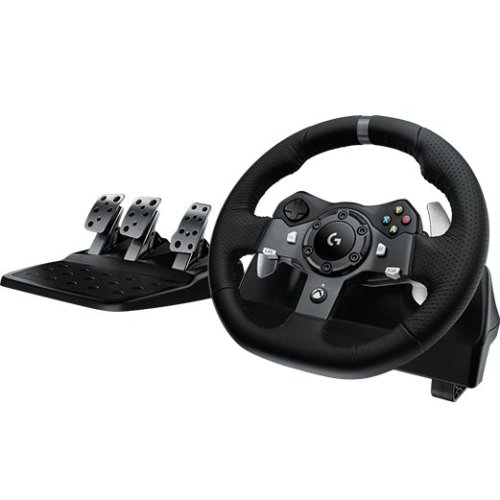 Logitech G920 Steering wheel + Pedals Xbox One Black