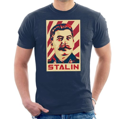 Stalin Propaganda Poster Men's T-Shirt