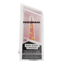 Mini Slant Tweezer (pattern Prints) - Pink Lemonade - -