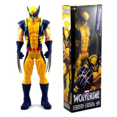 (Wolverine) Marvel Avengers 12 inch Action Figures Titan Hero Series Children Toys Kids M