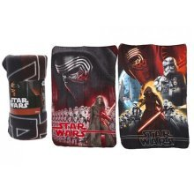 Star Wars Fleece Blanket - Available In 2 Designs - Disney Size 100cms x 150cms -  disney star wars fleece blanket size 100cms x 150cms