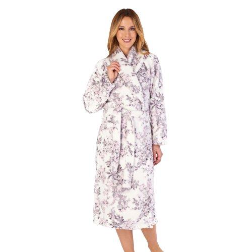 Slenderella HC4313 Women's Housecoats Floral Robe