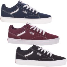 Vans Mens Seldan Low-Top Lace Up Casual Fashion Canvas Trainers Sneakers Shoes