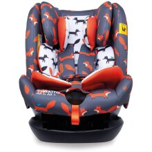 Cosatto All in All + Baby to Child Car Seat - Group 0+123, 0-36 kg, 0-12 years, ISOFIX, Extended Rear Facing, Anti-Escape, Reclines (Mister Fox)
