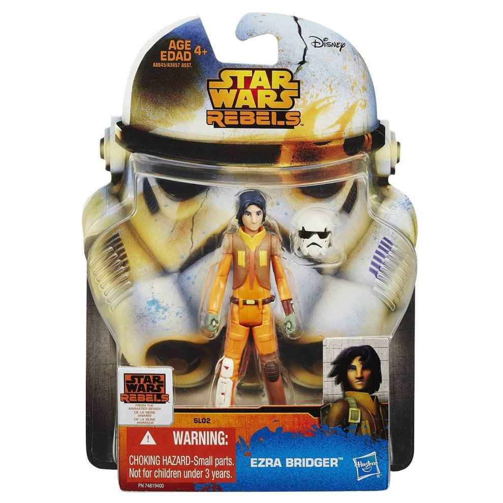 Star Wars New Hasbro Rebels Collection Ezra Bridger Action Figure