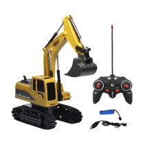 Remote Control DIY Construction Vehicle Electric Remote Control  Programming Assembling Car Toys