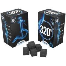 Coconut Charcoal Coal (25mm Cubes) 1 kg - 72 Pieces
