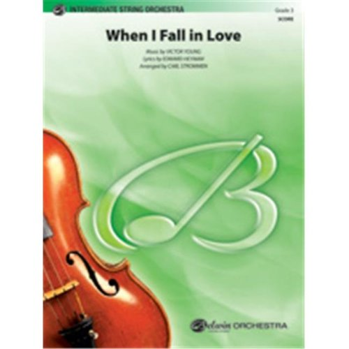 Alfred 00-35922 WHEN I FALL IN LOVE-PIS