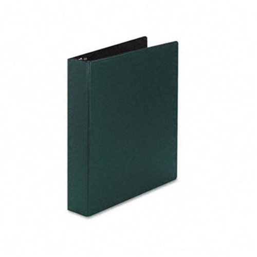 Durable EZ-Turn Ring Reference Binder  11 x 8-1/2  1-1/2'' Capacity  Green