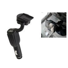 Universal Mobile Holder with USB Charger