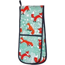 Ulster Weavers Foraging Fox Double Oven Glove, Multi-Colour