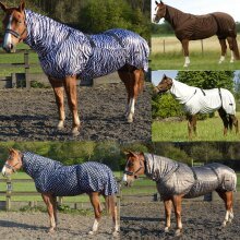 Eczema Fly Sheet Combo Neck Turnout Rug