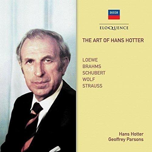 Geoffrey Parsons Hans Hotter - the Art of Hans Hotter: Loewe, Brahms, Schubert Etc [CD]