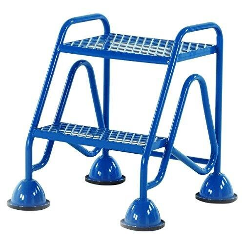 Practical Panda WM510_Blue Fort Domed Feet 2 Step in Mesh Treads, Blue