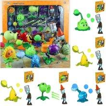Plants Vs Zombies Toy Launch Dolls War Action Figures
