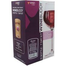 WineBuddy Merlot 30 Bottle - Home brew Wine Making Kit