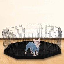 8Sided Pet Playpen Cage&Mat Indoor/Outdoor Garden Run Dog/Puppy/Rabbit
