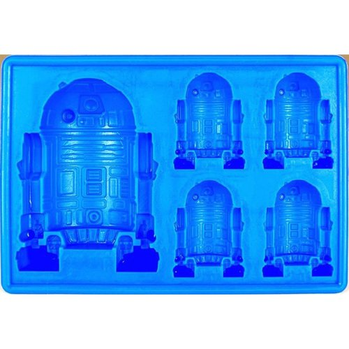 Star Wars R2-D2 Silicone Ice Cube Tray   Flexible R2-D2 Mould