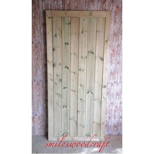 Wooden Garden TVG 5ft High Gate - UP TO 8 WEEK WAIT