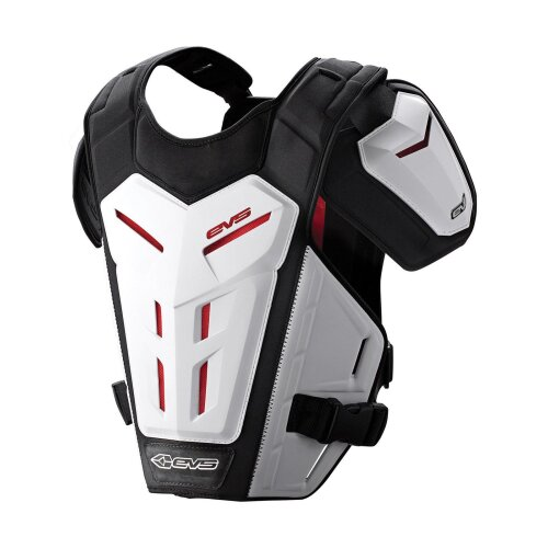 EVS White 2018 Revo 5 Roost MX Chest Protector - S/M