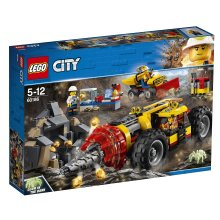 LEGO 60186 City Mining Power Driller Toy Vehicle, Construction Sets for Kids