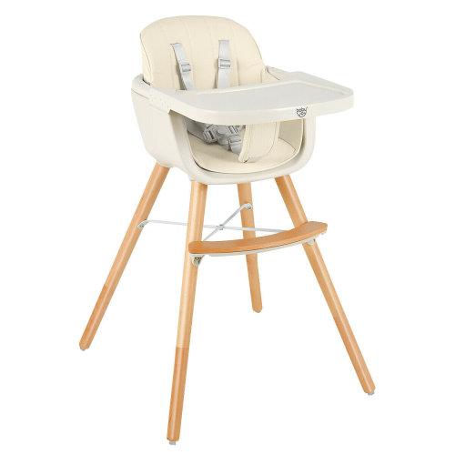3 IN 1 Baby Child Feeding Seat Highchair Food Tray Safety Belt