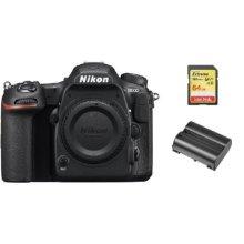 NIKON D500 Body + 64GB SD card + NIKON EN-EL15A Battery